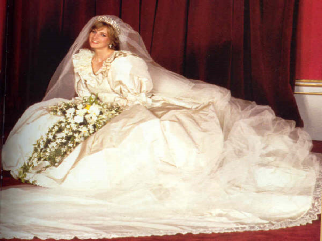Abito matrimonio Diana Spencer